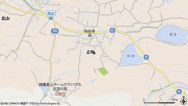 〒671-0216 兵庫県姫路市飾東町志吹の地図