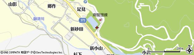 愛知県豊川市御津町豊沢(樽美)周辺の地図
