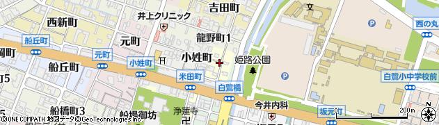 兵庫県姫路市米田町周辺の地図