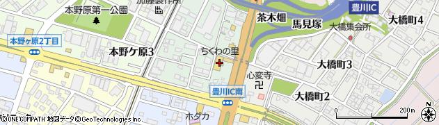 善作竹水亭周辺の地図