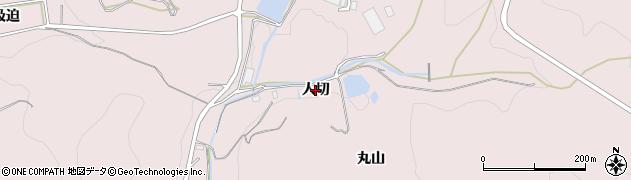 愛知県西尾市吉良町駮馬(人切)周辺の地図