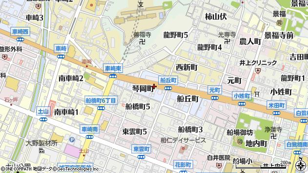 〒670-0035 兵庫県姫路市琴岡町の地図