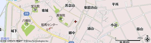 愛知県西尾市吉良町駮馬周辺の地図