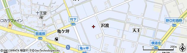 愛知県豊川市八幡町周辺の地図