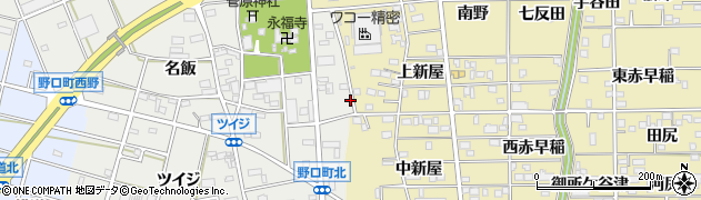 愛知県豊川市野口町(長万)周辺の地図