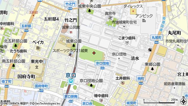 〒670-0847 兵庫県姫路市城東町中河原の地図