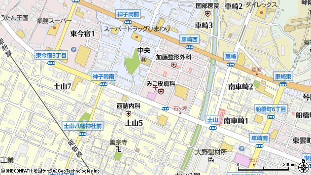 〒670-0054 兵庫県姫路市南今宿の地図