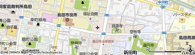 ステーキハウスラグー周辺の地図
