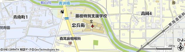 静岡県藤枝市前島周辺の地図