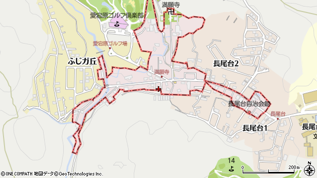 〒665-0891 兵庫県川西市満願寺町の地図