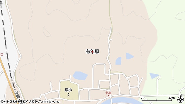〒678-1182 兵庫県赤穂市有年原の地図
