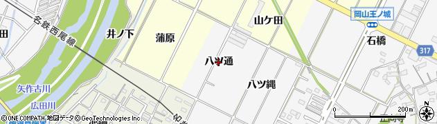 愛知県西尾市吉良町木田(八ツ通)周辺の地図