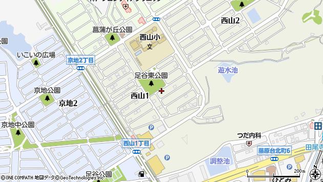 〒651-1305 兵庫県神戸市北区西山の地図