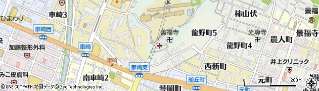 願成寺周辺の地図