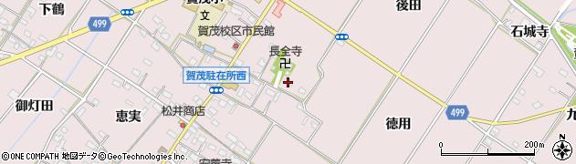 愛知県豊橋市賀茂町(宗末)周辺の地図