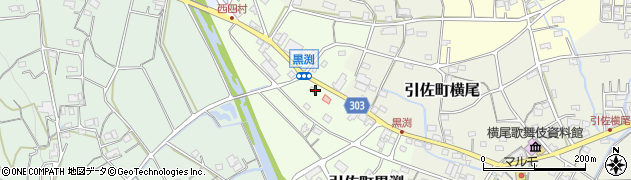 静岡県浜松市北区引佐町黒渕周辺の地図