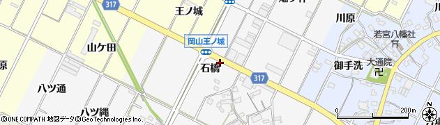 愛知県西尾市吉良町木田(石橋)周辺の地図