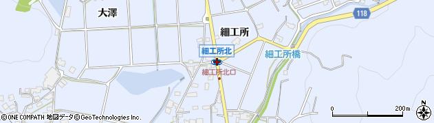 細工所北周辺の地図