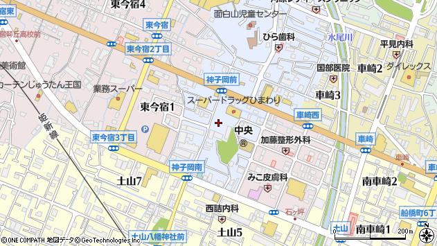 〒670-0055 兵庫県姫路市神子岡前の地図
