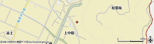 愛知県豊橋市石巻萩平町(松葉坂)周辺の地図