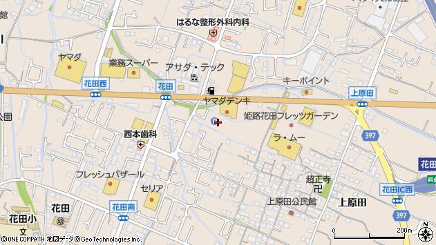 〒671-0251 兵庫県姫路市花田町上原田の地図