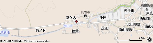 愛知県幸田町(額田郡)深溝(浅井戸)周辺の地図