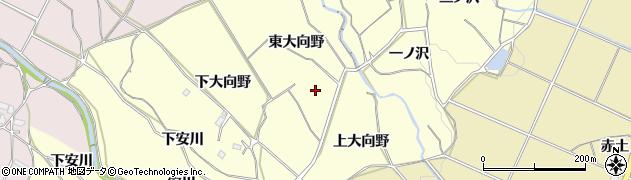愛知県豊橋市石巻平野町(東大向野)周辺の地図