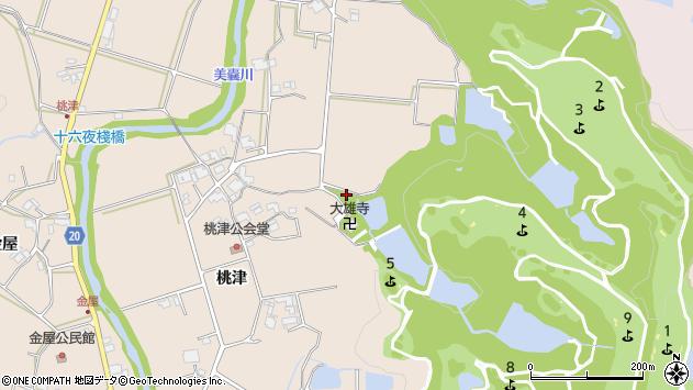 〒673-0712 兵庫県三木市細川町桃津の地図