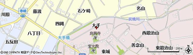 愛知県西尾市吉良町駮馬(大手)周辺の地図