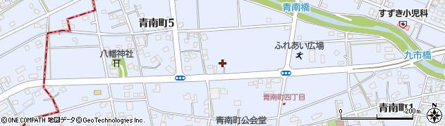 CARELABELwith美容家研究堂周辺の地図