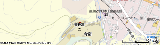 兵庫県姫路市今宿周辺の地図