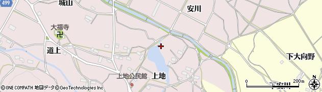 愛知県豊橋市石巻西川町(上地)周辺の地図
