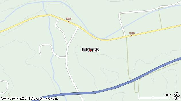 〒697-0514 島根県浜田市旭町市木の地図