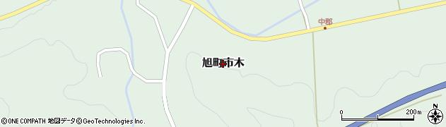 島根県浜田市旭町市木周辺の地図