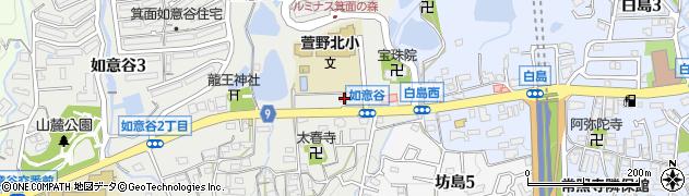 セキュリティラウンジ周辺の地図