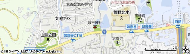 善如龍王神社周辺の地図