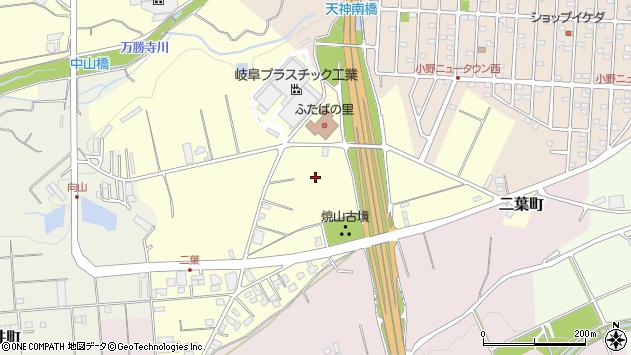 〒675-1328 兵庫県小野市二葉町の地図