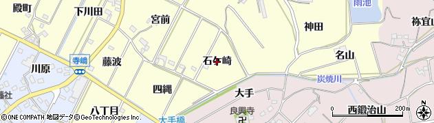 愛知県西尾市吉良町瀬戸(石ケ崎)周辺の地図