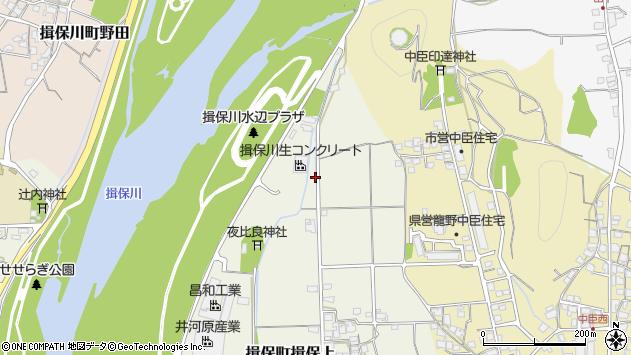 〒679-4156 兵庫県たつの市揖保町揖保上の地図