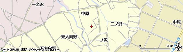 愛知県豊橋市石巻平野町(中原)周辺の地図