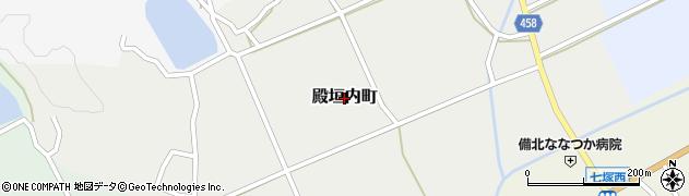 広島県庄原市殿垣内町周辺の地図