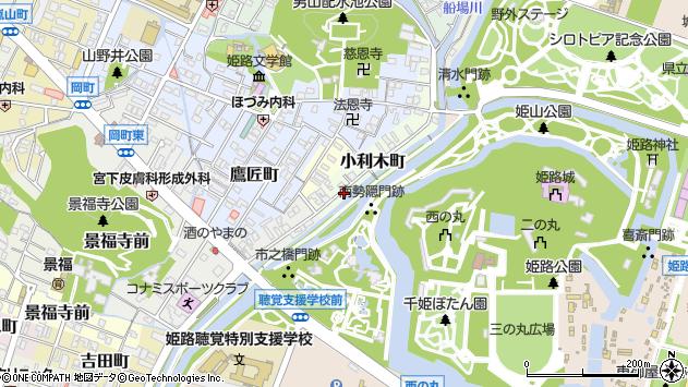 〒670-0022 兵庫県姫路市小利木町の地図