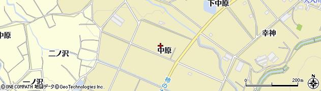 愛知県豊橋市石巻萩平町(中原)周辺の地図