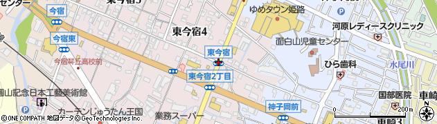 東今宿周辺の地図