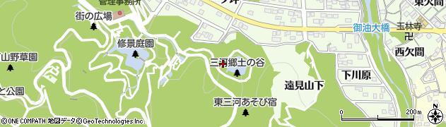 愛知県豊川市御油町(下り沢)周辺の地図