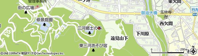 愛知県豊川市御油町(桧沢)周辺の地図