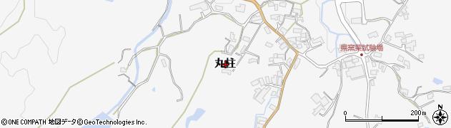 三重県伊賀市丸柱周辺の地図