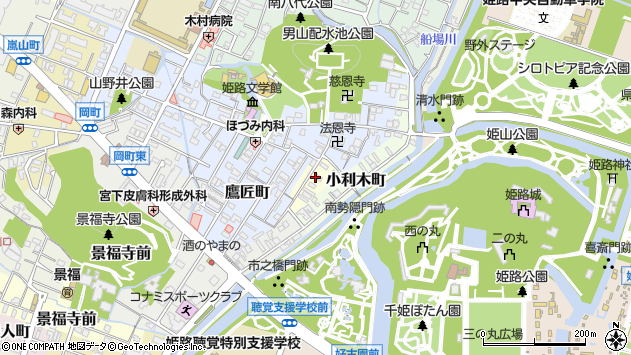〒670-0023 兵庫県姫路市柳町の地図