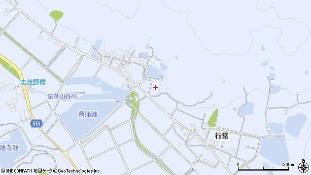 〒675-0343 兵庫県加古川市志方町行常の地図