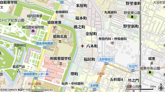 〒670-0007 兵庫県姫路市生野町の地図